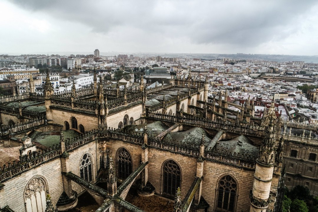 View from the Giralda, Seville