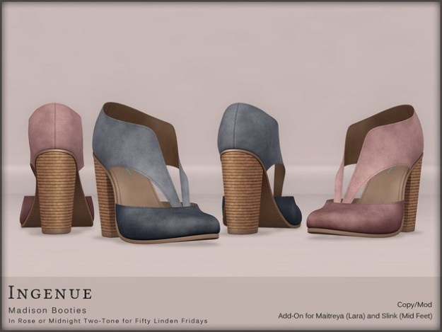 Ingenue :: Madison Booties for FLF