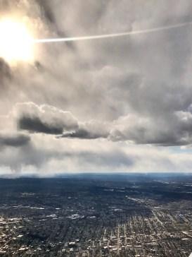 Sky and cloud, Garfield New Jersey
