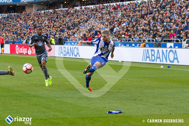 Liga Santander. Deportivo 0 - Celta 1