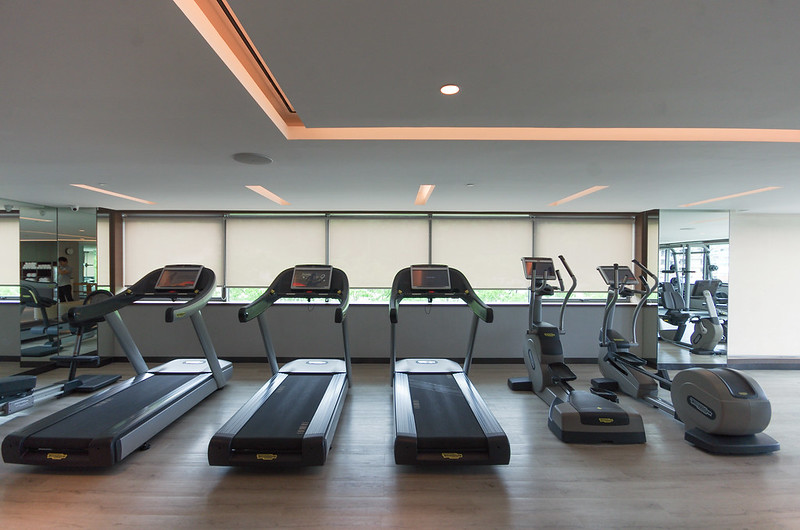 fitness center - hilton kota kinabalu