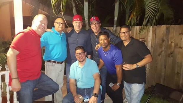 Nuestra gente de Sajoma en Miami disfrutando en WBC