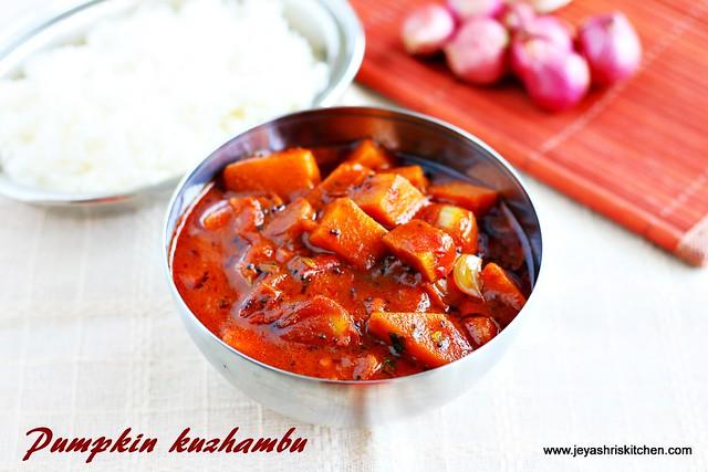 Pumpkin- kuzhambu
