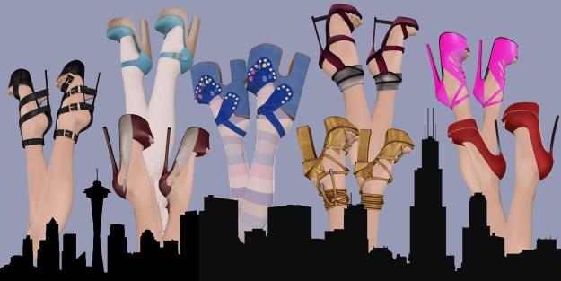 Platform City of Shoes