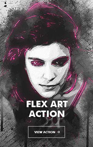 Mix Oil Painting Photoshop Action - 53