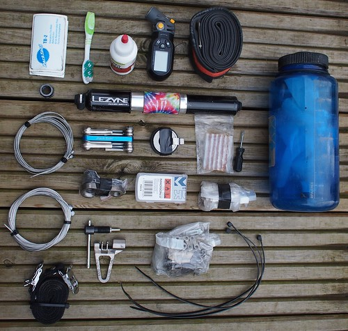 Tour Divide tool kit overall