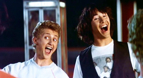 Image result for bill and ted