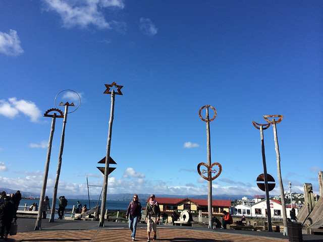 Wellington seaside monuments