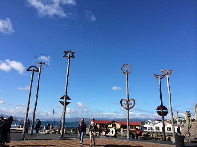 Wellington seaside monuments