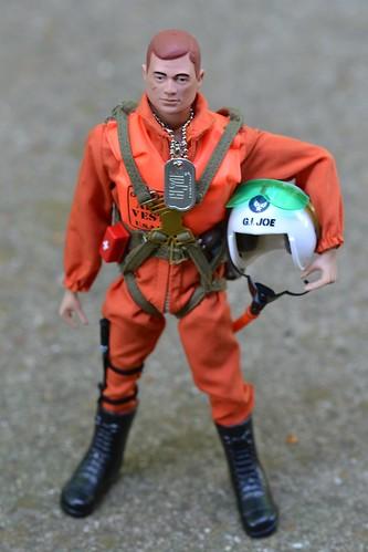 Gi Joe Scramble Pilot Hasbro S 40th Anniversary Scramble