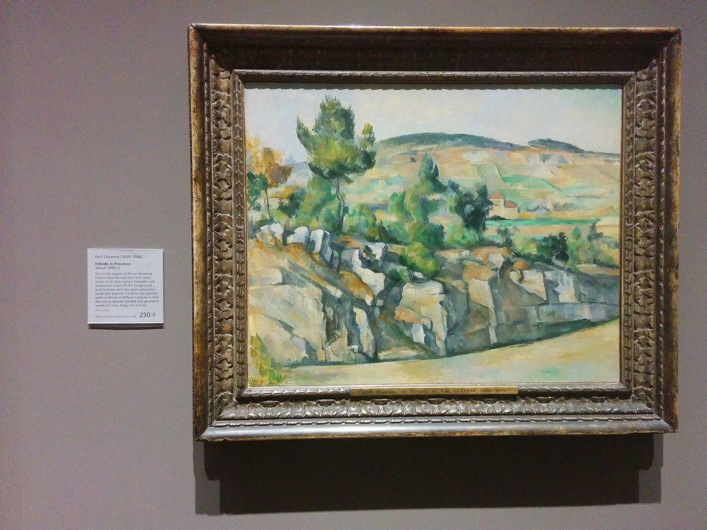 Paul Cézanne, Hillside in Provence.