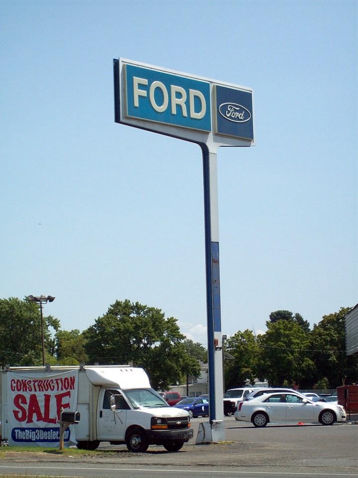 old car dealer signs. Black Bedroom Furniture Sets. Home Design Ideas