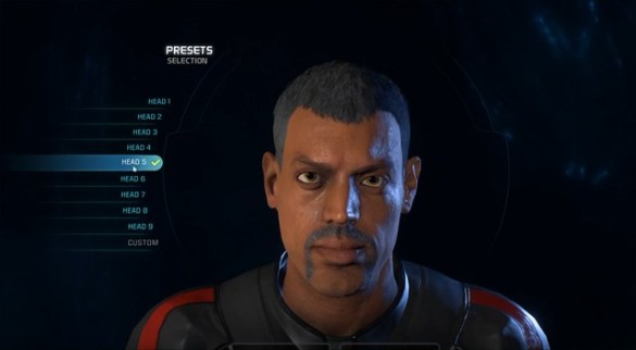 Mass Effect Andromeda - Male Head 5