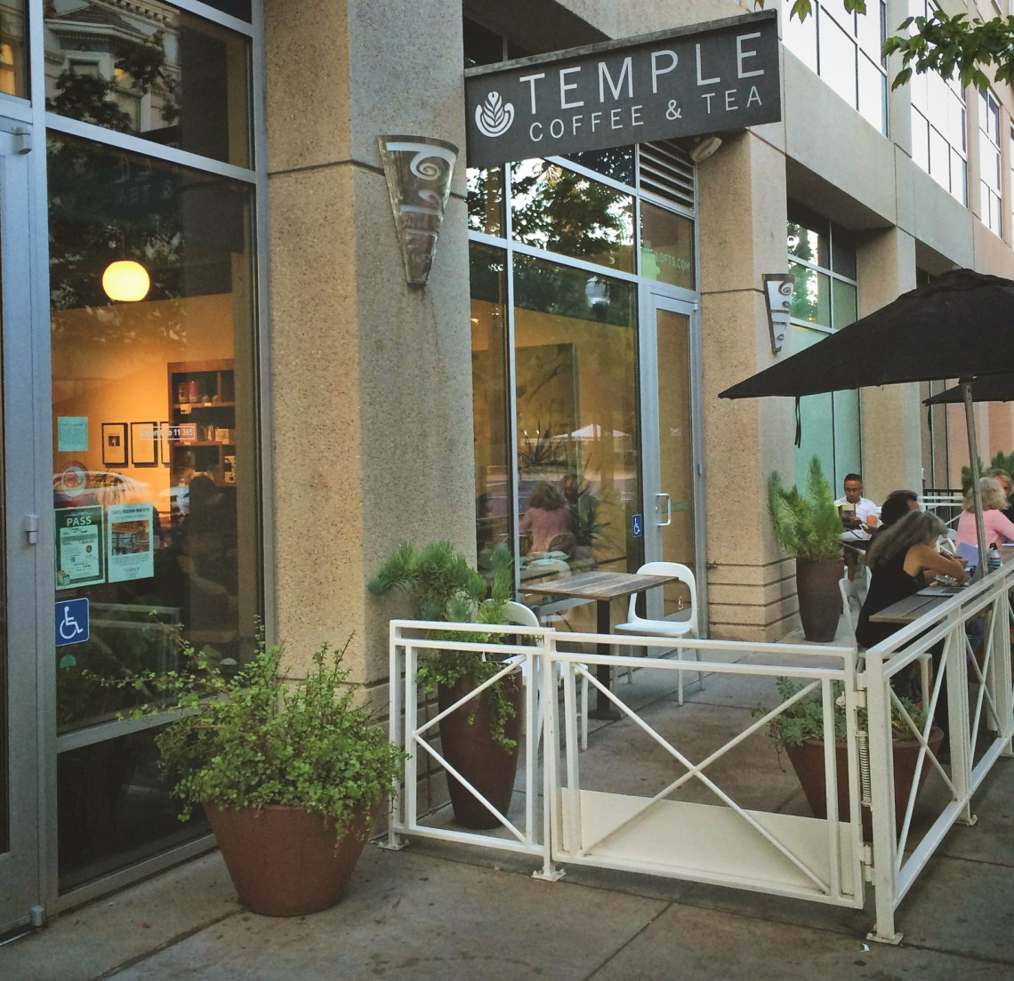 Temple Coffee Exterior