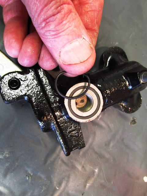 New Master Cylinder Reservoir O-ring