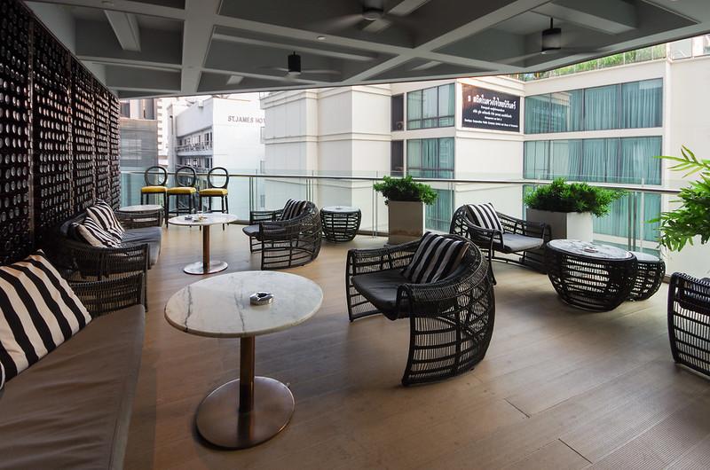 executive lounge - hilton sukhumvit bangkok
