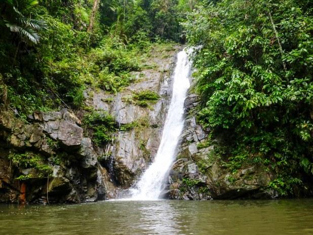 Cascada de Pamuayan