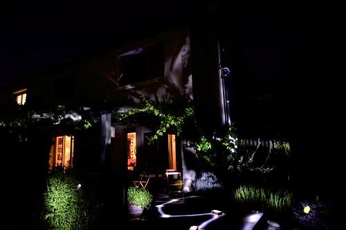 Refaire l'éclairage du jardin