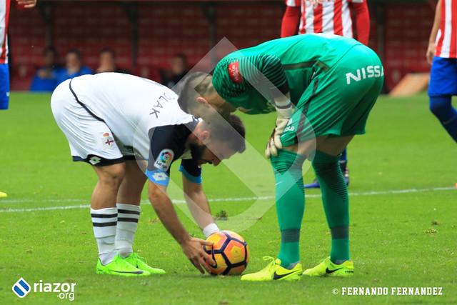 Liga Santander. Sporting de Gijón 0 - RC Deportivo 1