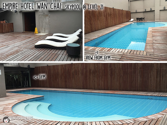 Empire Hotel Wan Chai swimming pool