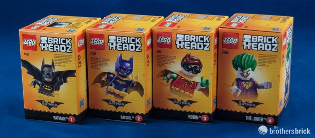 LEGO BrickHeadz DC characters from The LEGO Batman Movie [Review ...