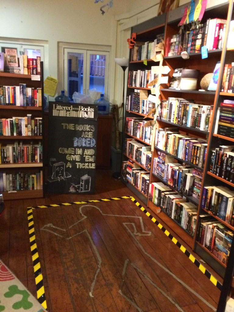 City Girl City Stories: Littered with Books