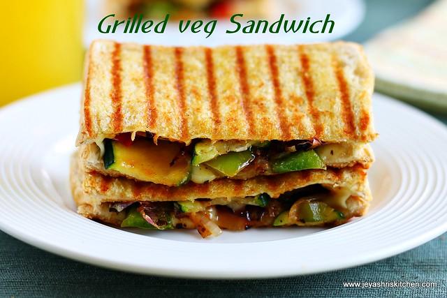 Grilled veg- sandwich