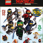 The LEGO NINJAGO Movie Ultimate stickers collection