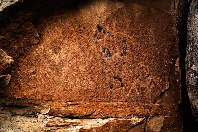 White Rocks Petroglyphs