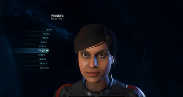 Mass Effect Andromeda - Female Head 6