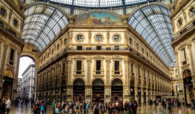 Image result for Galleria Vittorio Emanuele II, Milan