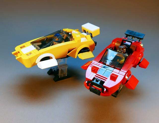 Hovercars LEGO MOC