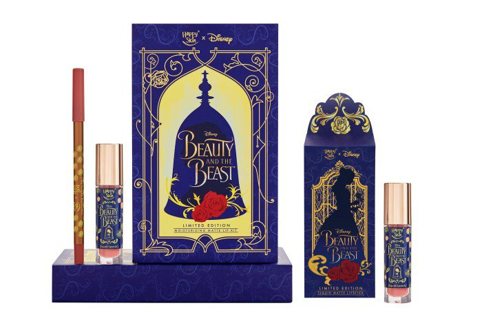 Happy Skin Beauty And The Beast Moisturizing Matte Lip Kit