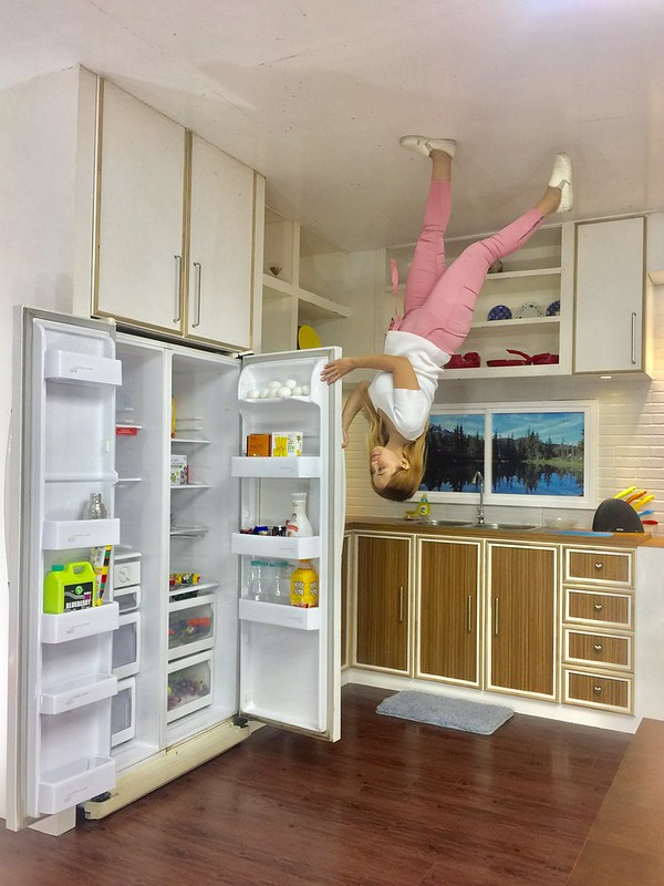 Upside Down Museum Kitchen