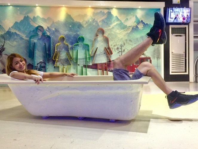 Upside Down Museum Bathtub