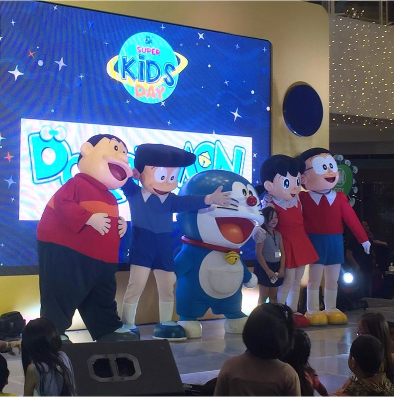 Doraemon Meet and Greet at SM Supermalls