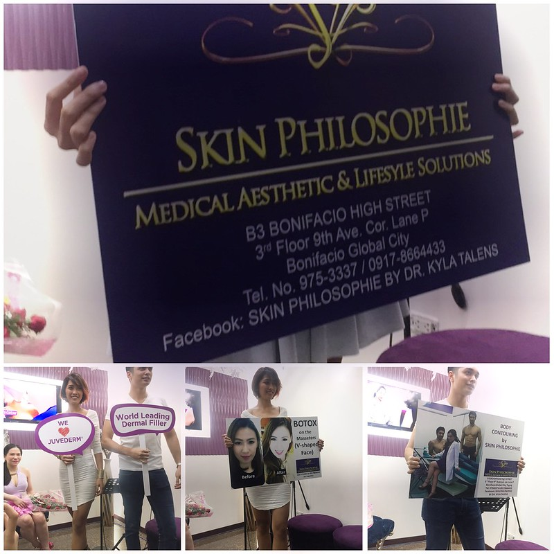 Skin Philosophie Menu of Services