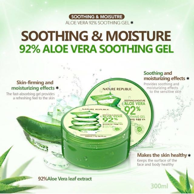 Nature Republic Aloe Vera Soothing Gel