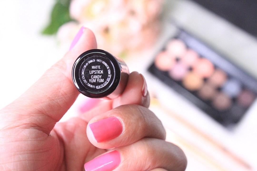 MAC Matte Lipstick Candy Yum Yum