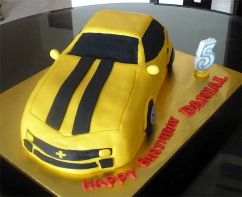 Bumblebee Transformers Cake Tracey Chooi Flickr