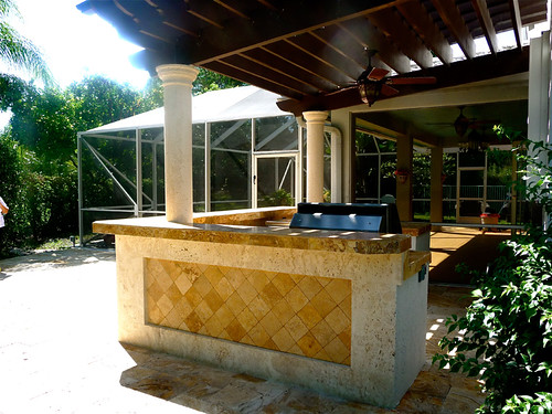 tropical patio outdoor kitchens Tropical Grill Outdoor Kitchen Patio | Transform your