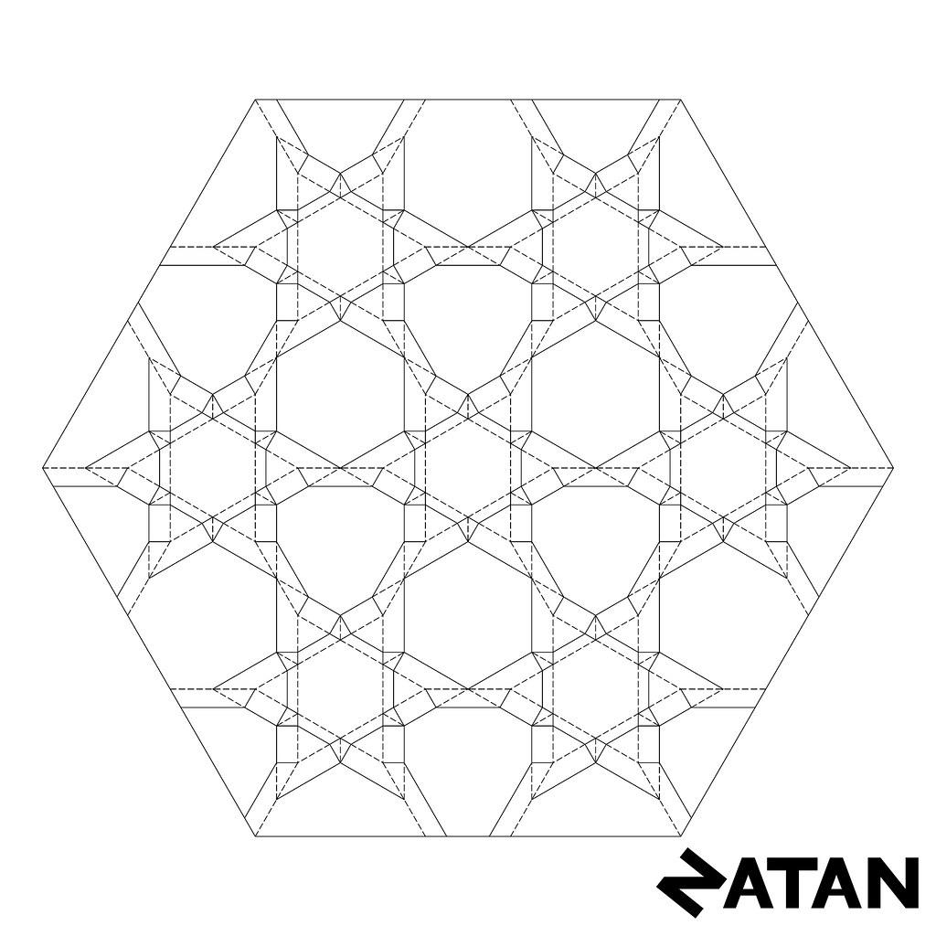 Six Pointed Star Tessellation