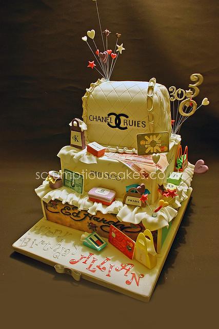 Birthday Cake 570 Designer Handbag Amp Shopping 8 Inch