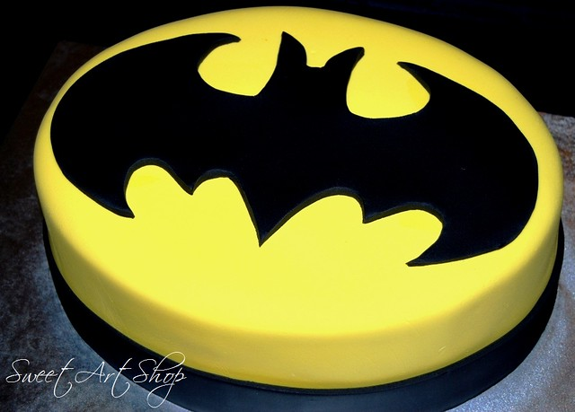 Holy Cake Batman Grooms Cake For A Wedding Tomorrow