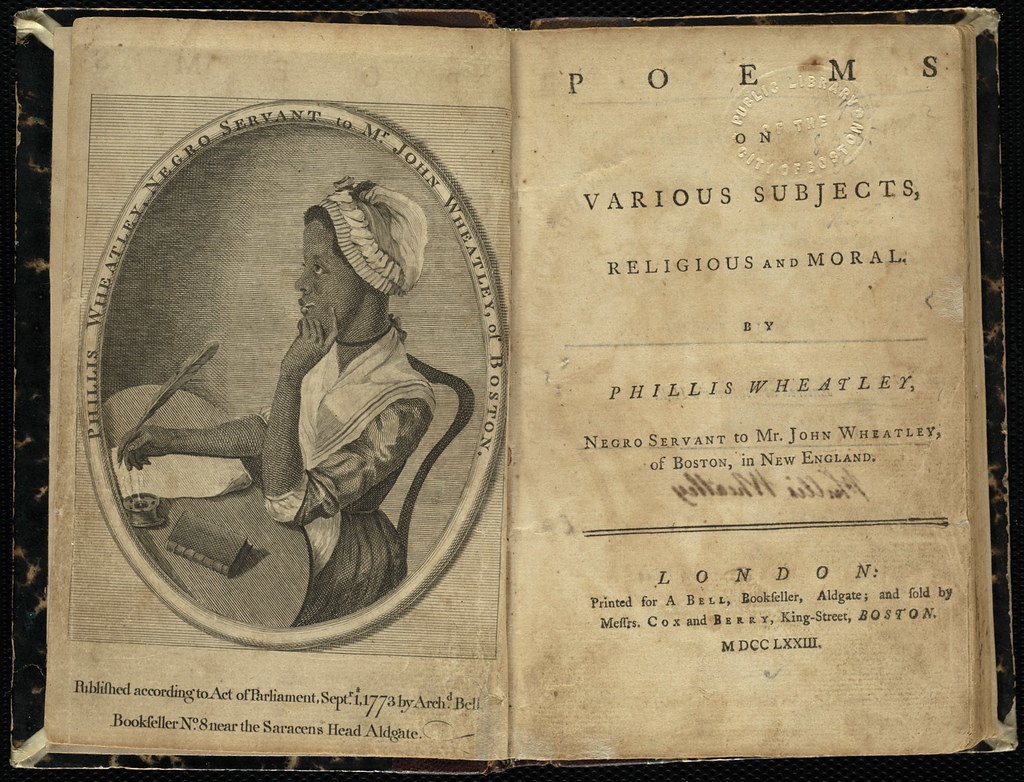 Poems On Various Subjects Religious And Moral Title Page