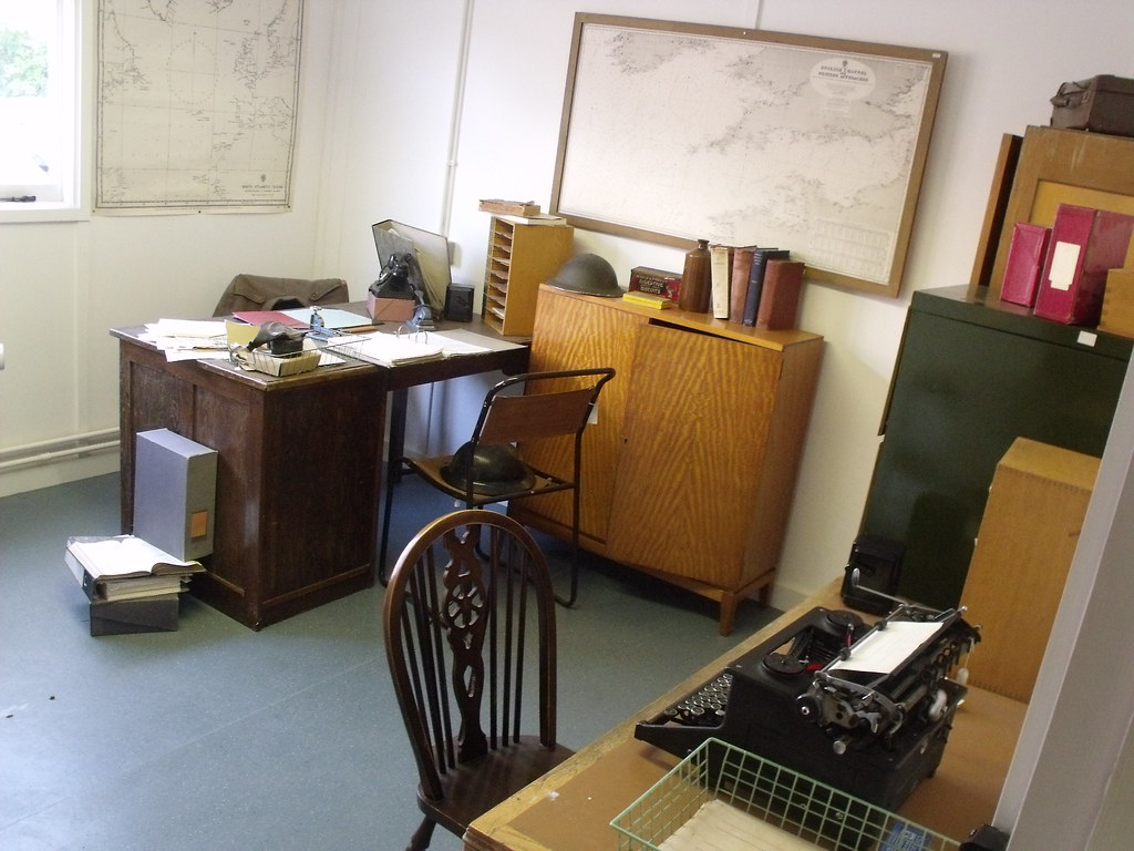 Bletchley Park Hut 8 1940s Office During The War Flickr
