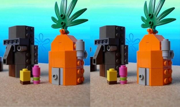 3D Lego: Bikini Bottom
