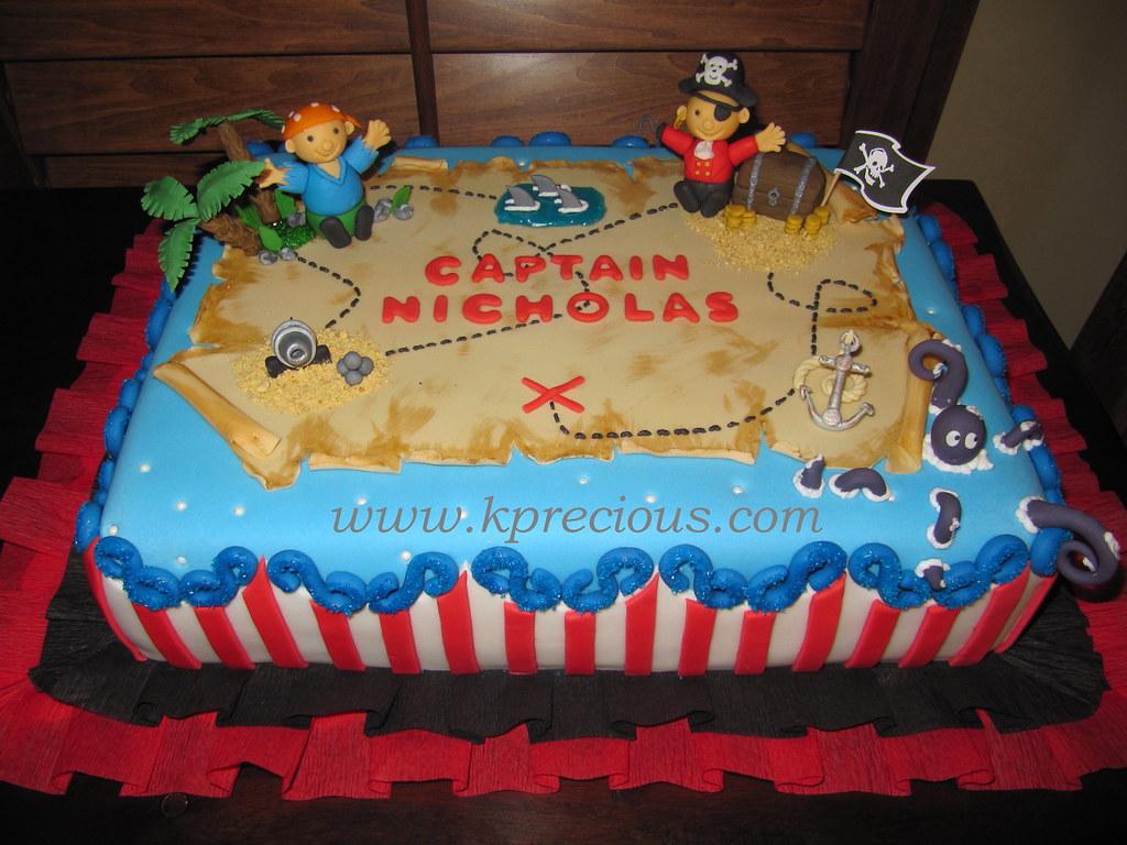 302 Pirate Cake