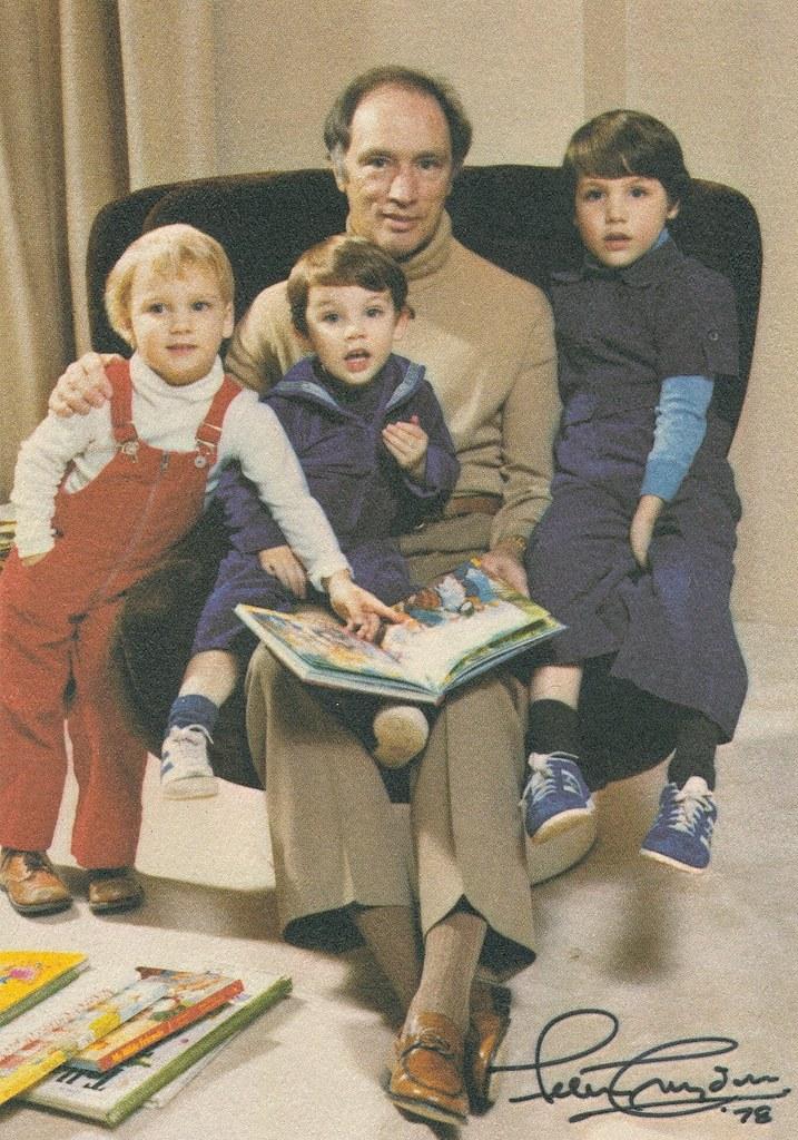 Pierre Elliott Justin Sacha And Michel Trudeau 1978 Flickr