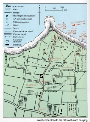 Pointe du hoc DDay 6th June1944 | Attack on the gun